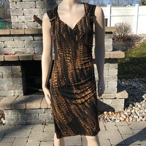 Michael Kors Animal print dress, Size Medium